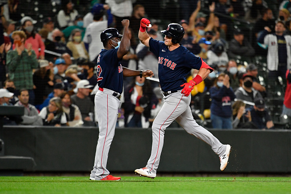 Kyle Schwarber bounces back with clutch 3-run double off bench as Red Sox top Mariners,8-4