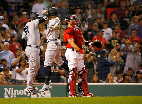 Darwinzon Hernandez gives up game-winning grand slam to Giancarlo Stanton as Red Sox squander late lead in 5-3 loss toYankees