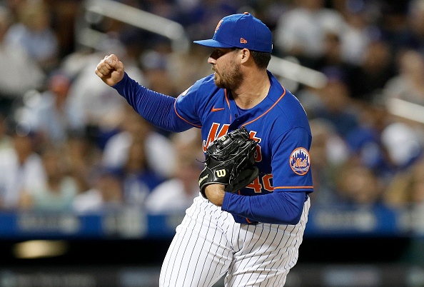 Red Sox claim right-hander Geoff Hartlieb off waivers from Mets, option him to Triple-AWorcester