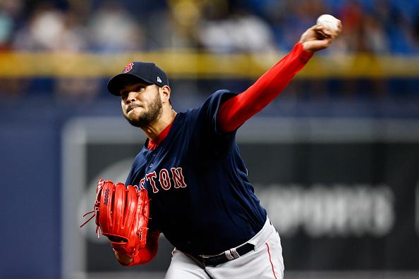 Eduardo Rodriguez twirls 6 scoreless frames, Bobby Dalbec stays hot with 2-RBI night as Red Sox earn series split by blanking Rays,4-0