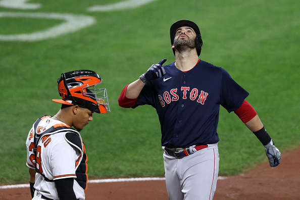 J.D. Martinez homers, drives in 3 runs as Red Sox bounce back with 6-0 victory overOrioles