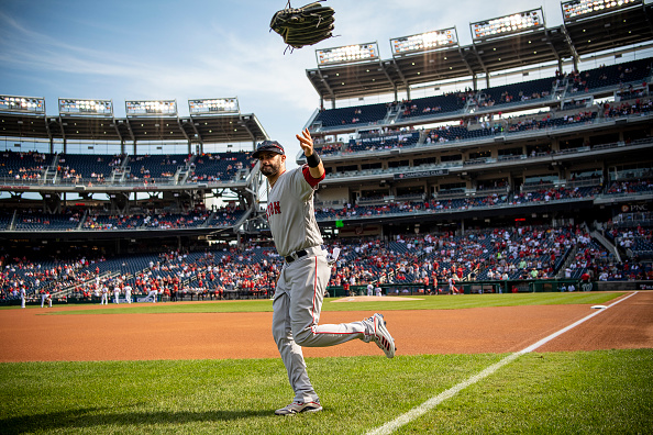 J.D. Martinez twists ankle in win over Nationals, leaving status for Wild Card Game against Yankees up inair