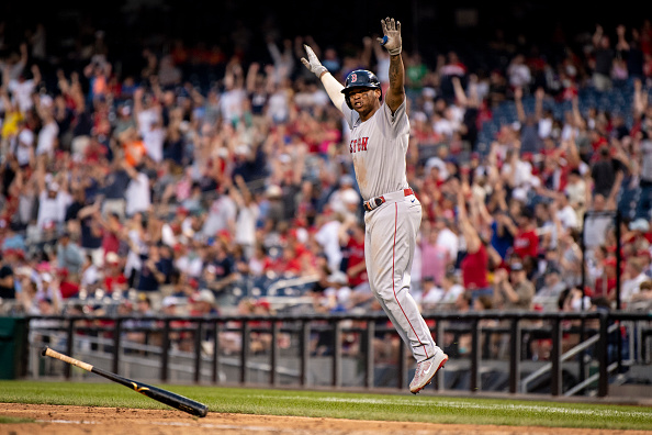 Rafael Devers crushes 2 homers as Red Sox come back to clinch Wild Card berth with 7-5 win overNationals