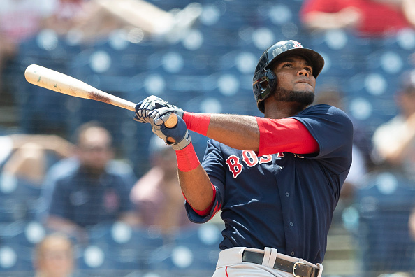 Red Sox designate Franchy Cordero for assignment, reinstate Phillips Valdez from COVID-19 related injuredlist