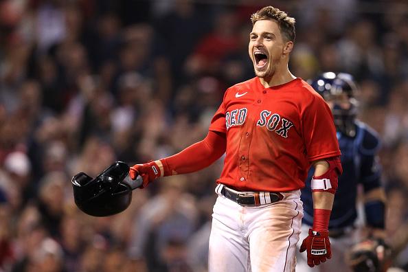 Red Sox advance to ALCS on Kiké Hernández's walk-off sacrifice fly in 6-5 win over Rays in Game 4 ofALDS